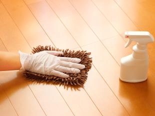 床掃除で同時に除菌・消臭